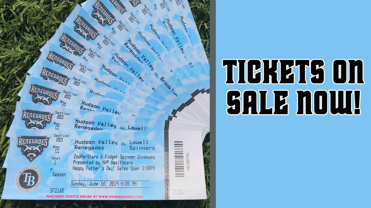 Renegades Tickets On Sale Now