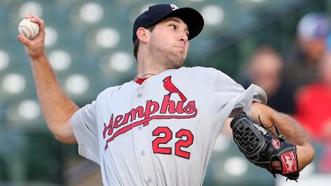 Michael Wacha owned a 0.99 WHIP at Triple-A Memphis last season.