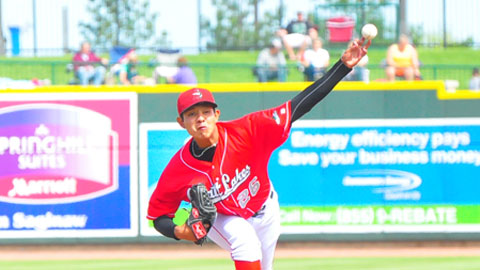 Julio Urias is the only 16-year-old in the Midwest League this year.