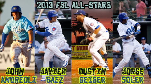 The 2013 FSL All-Star Game will be played in Dunedin on Saturday, June 15 at 7:00 p.m.
