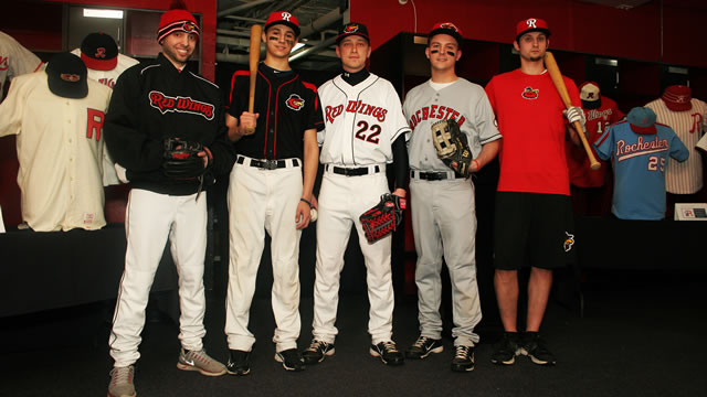 d7c65f36 New 2014 uniform look for Wings | Rochester Red Wings News