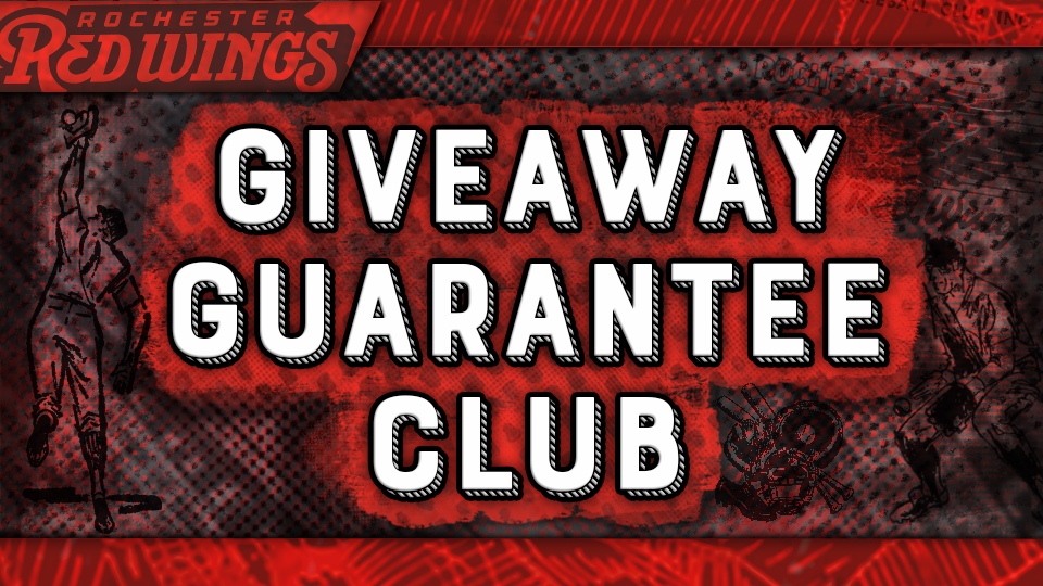 Join the Red Wings Giveaway Guarantee Club | Rochester Red Wings News