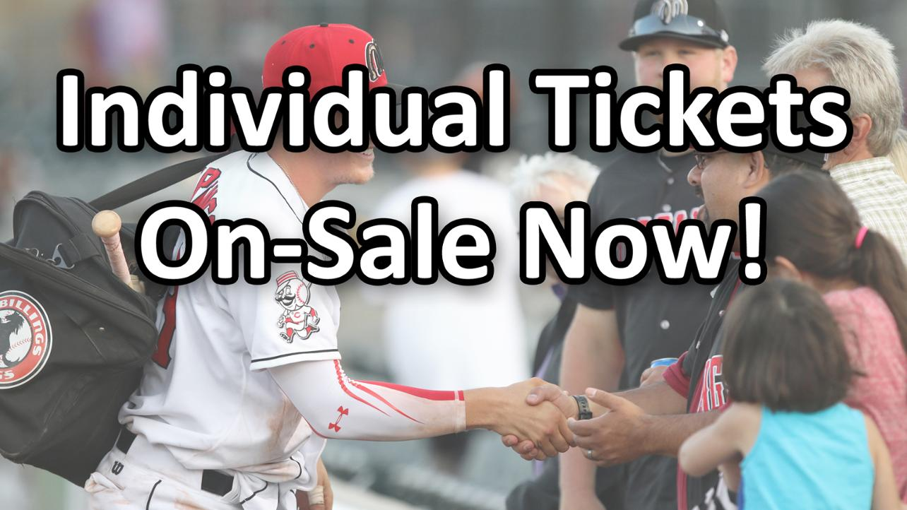 Individual Tickets are On-Sale Now!