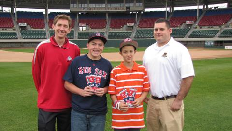 PawSox Again Treat Youngsters to World Series Trip
