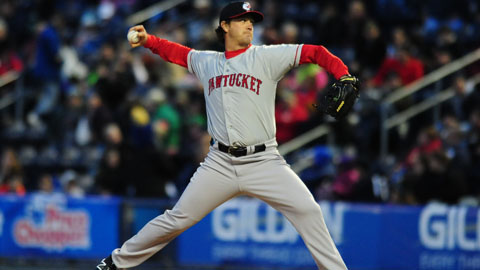 Steven Wright is 4-5 with a 4.14 ERA this season.