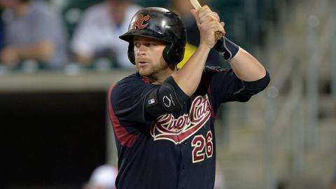 Stephen Vogt is batting .317 with 11 homers and 54 RBIs for Sacramento.