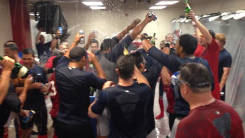 Oklahoma City clinched its seventh division title Tuesday.