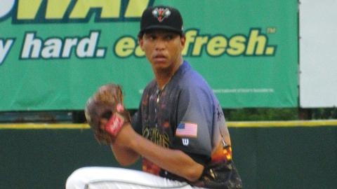 Joan Gregorio has 73 strikeouts in 60 2/3 innings for Augusta in 2013.
